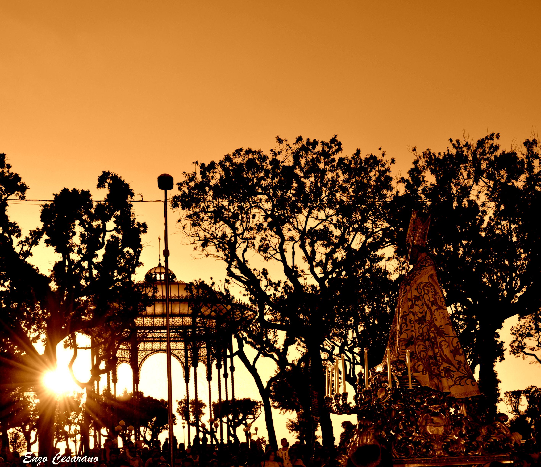 San Catello al tramonto