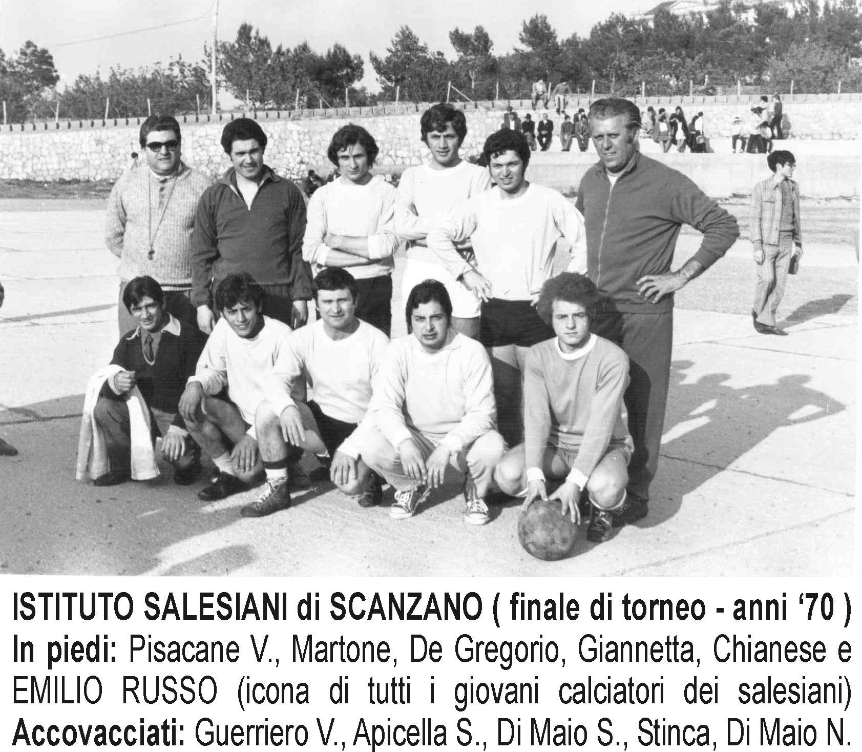 Squadra Salesiani (anni '70).