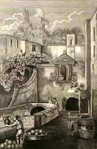 Fontana dei Meloni in Castellamare - Guida ai monumenti delle due Sicilie 1