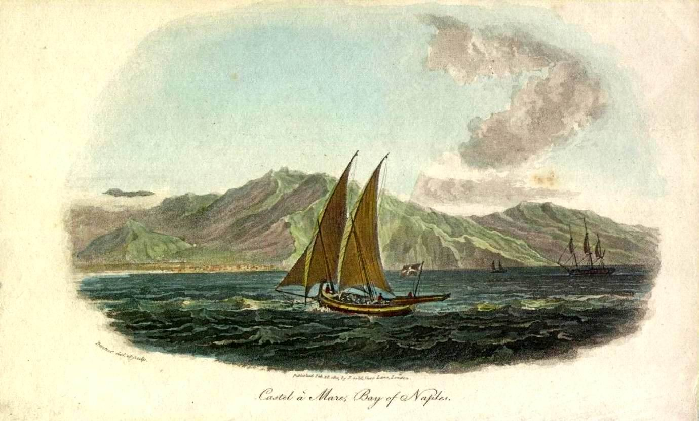 Faito - litografia del 1823 (coll. Gaetano Fontana)