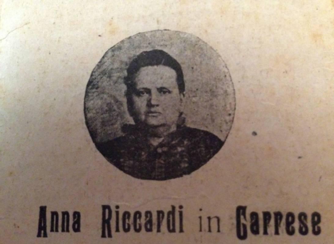 Anna Riccardi in Carrese