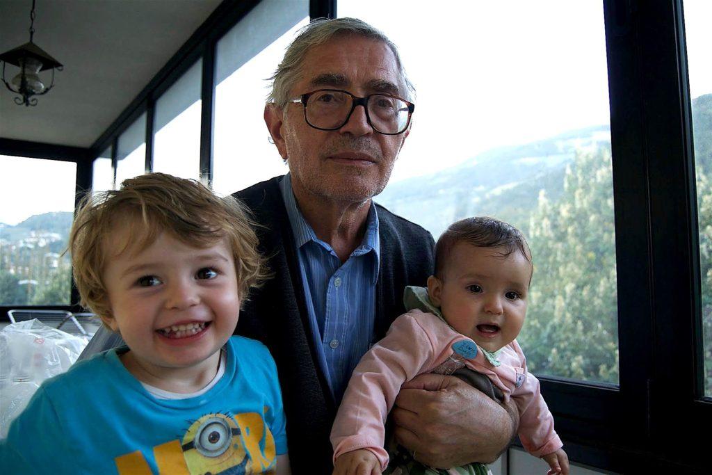 Il nonno, Francesco e Flaminia