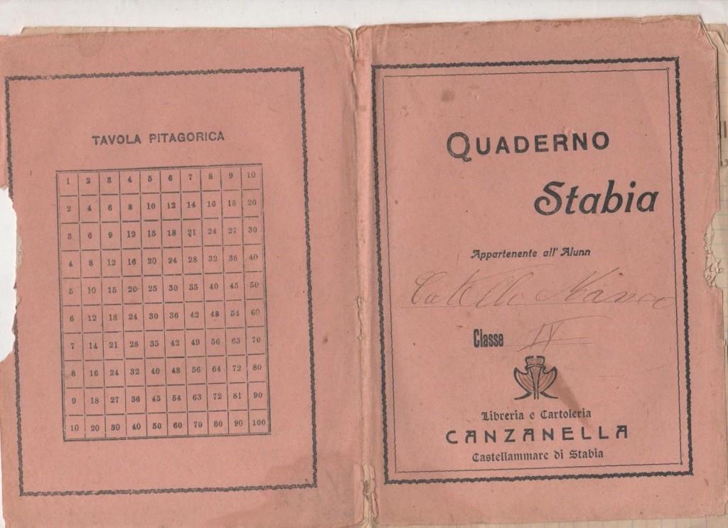 """Il """"Quaderno Stabia"""" di Canzanella"""