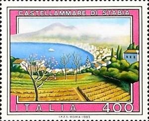 francobollo di Stabia