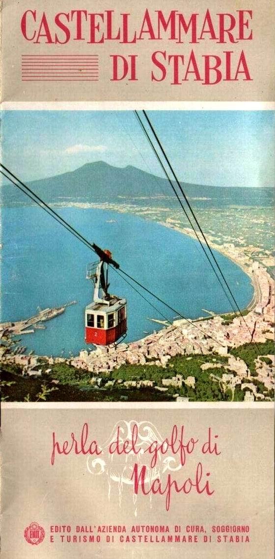 Castellammare di Stabia: depliant anni '60