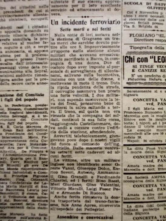 IL RISORGIMENTO (di mercoledì 25.10.1944)