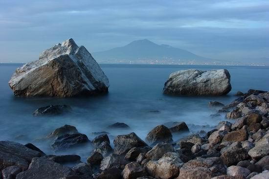 Vesuvio da Pozzano (foto Gennaro Cesarano)