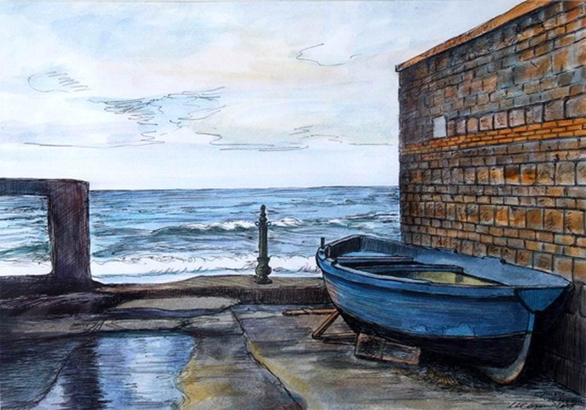 Vicolo sul mare al c.so De Gasperi (Umberto Cesino)