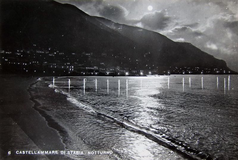 Castellammare e Faito, notturno, Collezione Giuseppe Zingone