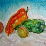 Peperoni e pesche