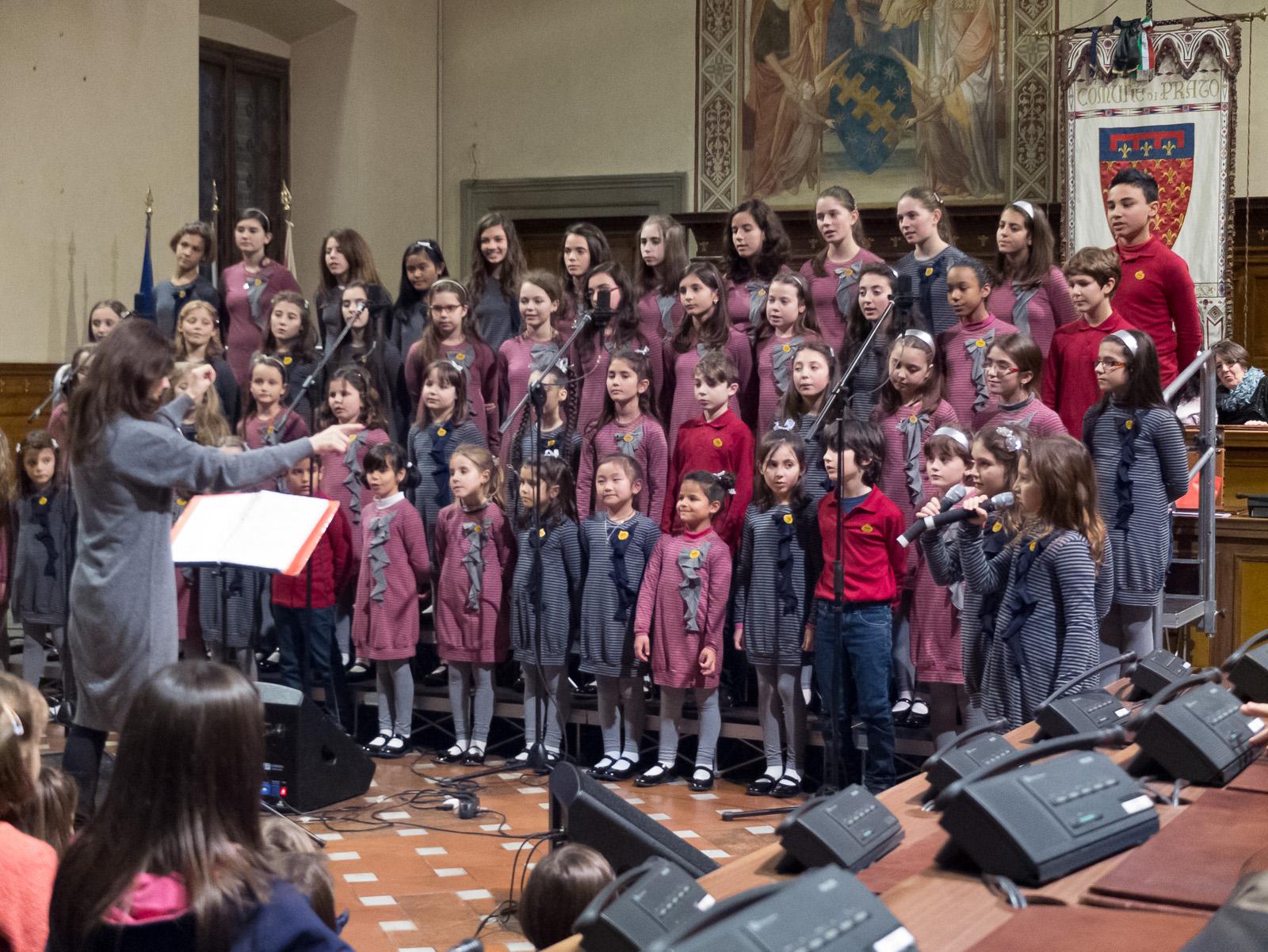 Il Piccolo coro del Melograno di Firenze
