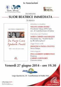 """Locandina evento """"Da Marie Curie a Rigoberta Menchù"""