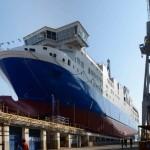 Gauthier (il traghetto sullo scalo)