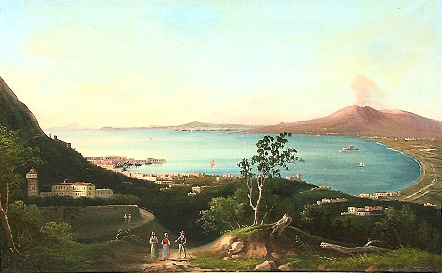 Veduta del golfo di Castellammare di Stabia