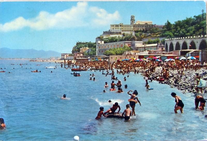 Lidi verso Pozzano (cartolina d'epoca)