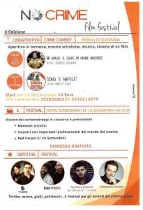"""""""No crime"""" film festival"""