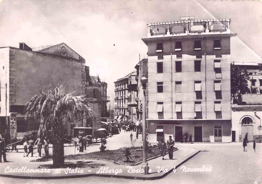 """Albergo Desio (piazza """"Vesuviana"""")"""
