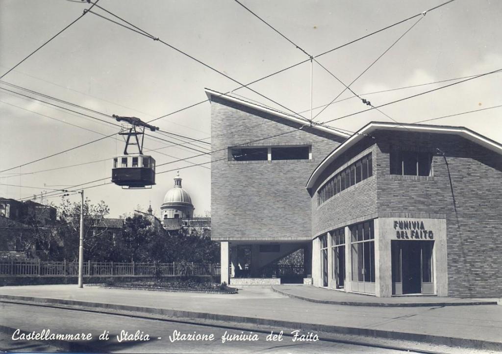 Stazione funivia del Faito (coll. Walter Raimondi)