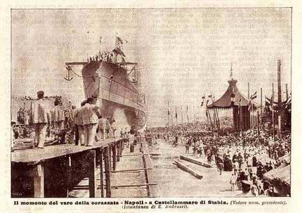 1905 - Napoli (Corazzata)