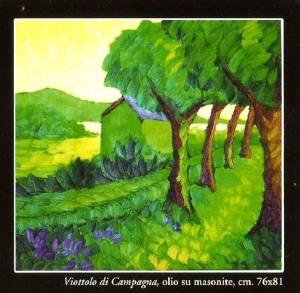 Viottolo di campagna - Morelli