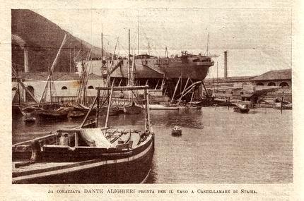 1910 - Dante Alighieri (Corazzata)