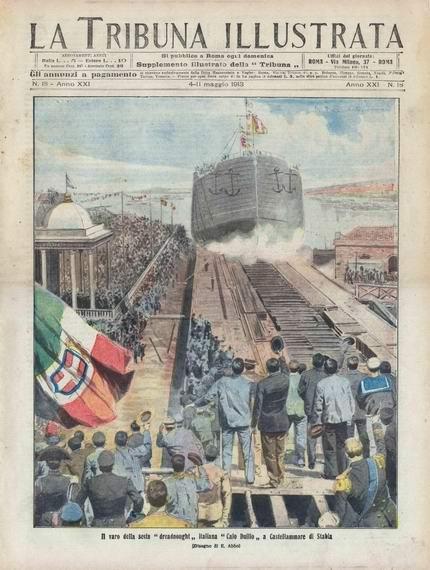 1913 - Duilio (dreadnought)