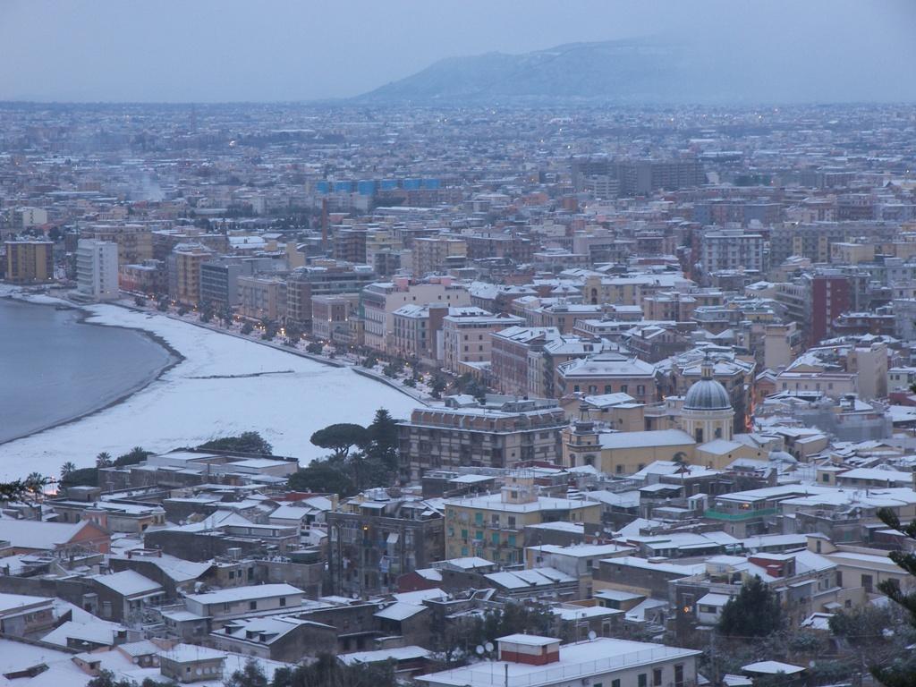 Nevicata a Castellammare di Stabia (31 dicembre 2014)
