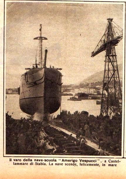 1931 - Amerigo Vespucci (nave scuola)