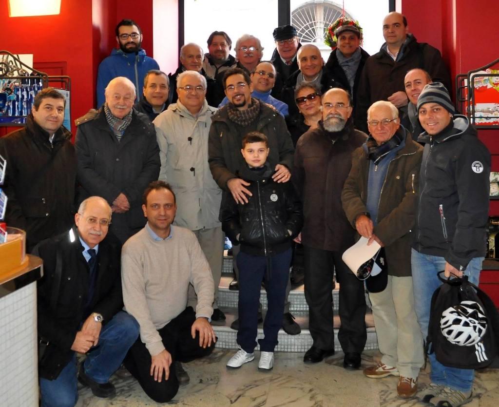 La foto di gruppo del 2015.