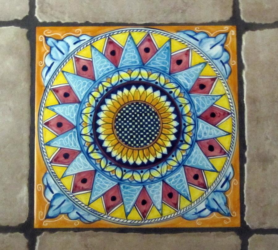 L arte calpestata le riggiole a castellammare libero - La riggiola piastrelle ...