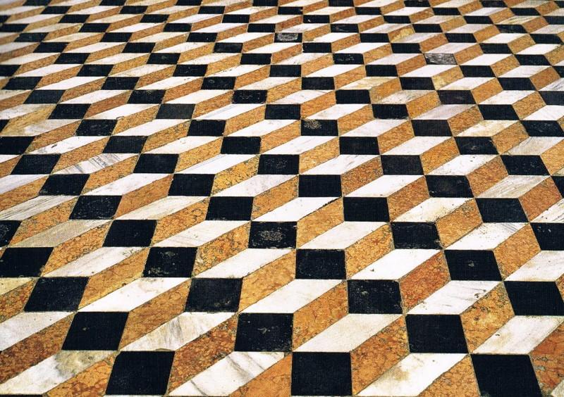 L arte calpestata le riggiole a castellammare libero - Piastrelle da incollare su pavimento esistente ...