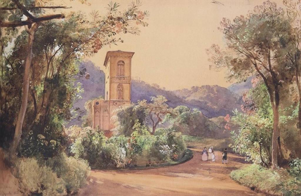 Real Parco di Quisisana (Giacinto Gigante)