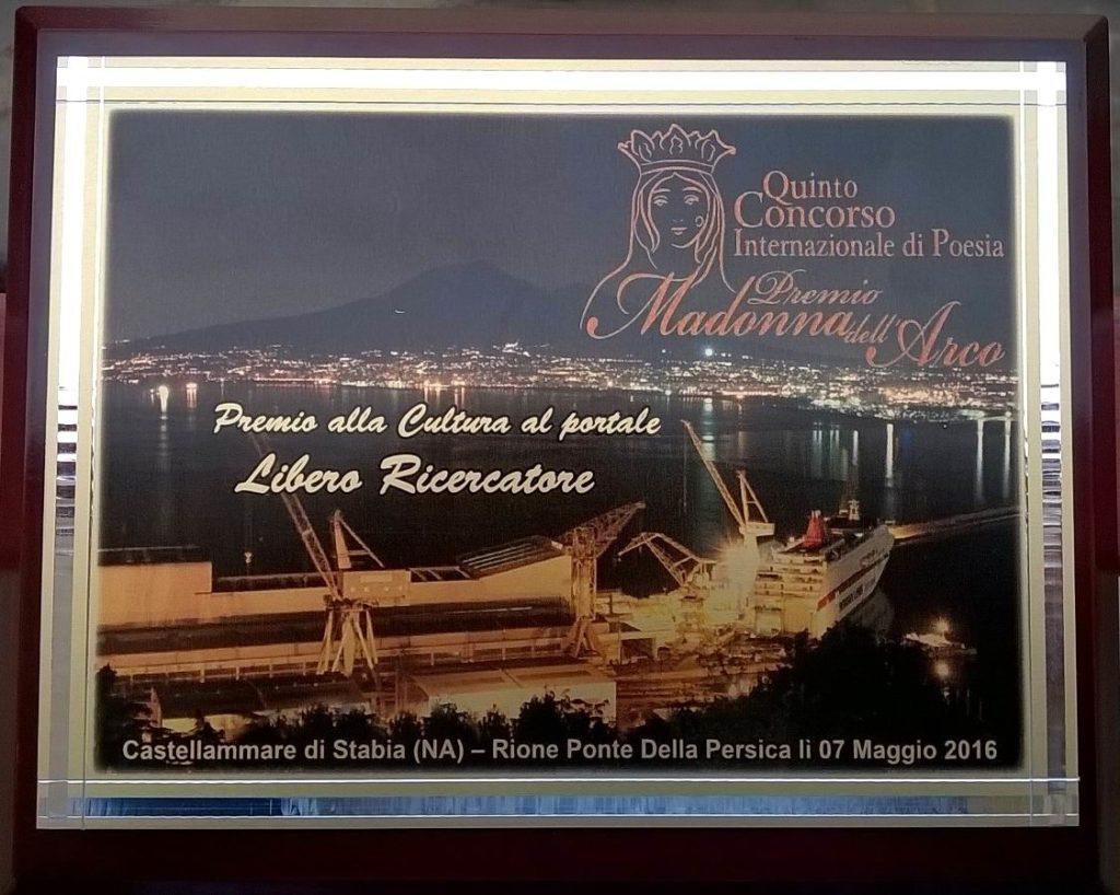 Premio alla Cultura 2016
