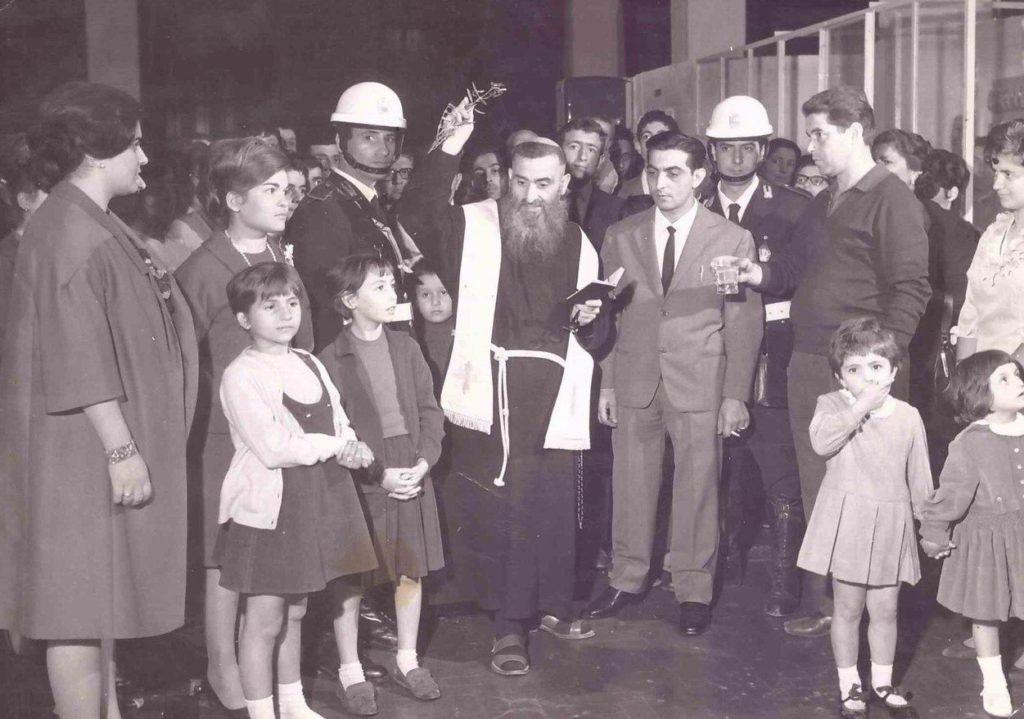 Inaugurazione dell'autolavaggio di Via Mantiello (anni '70)