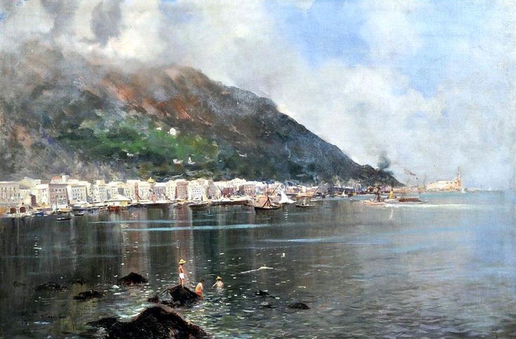 Veduta di Castellammare - Ricciardi Oscar