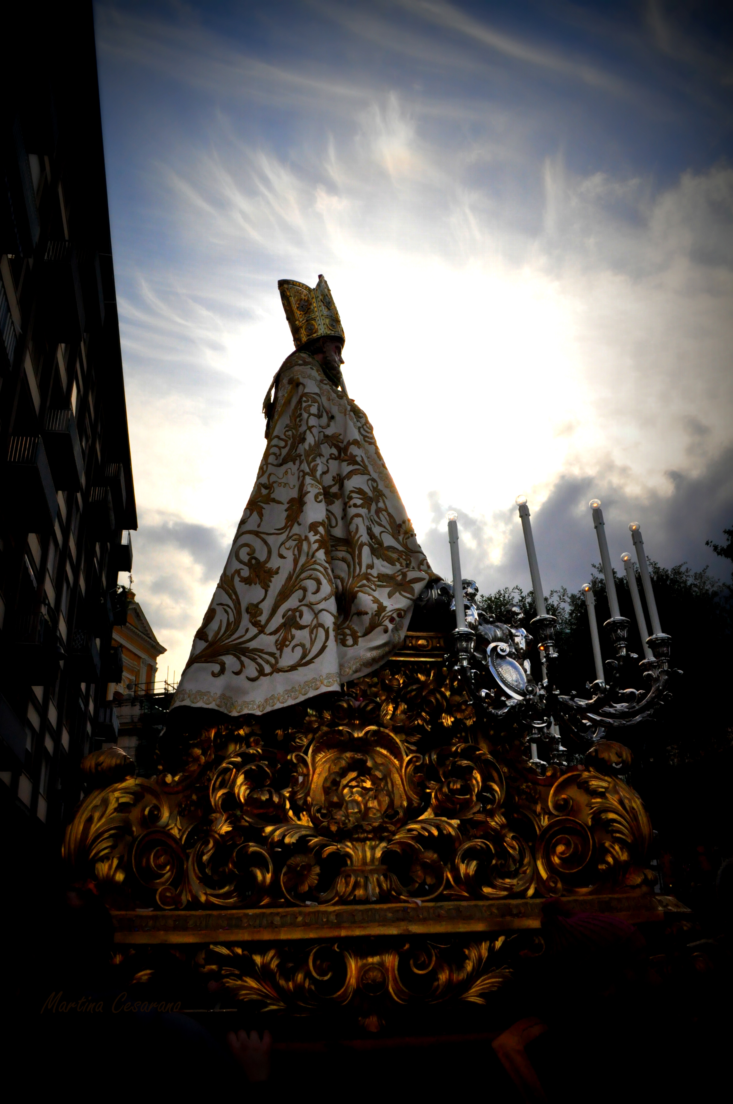 San Catello e ombre