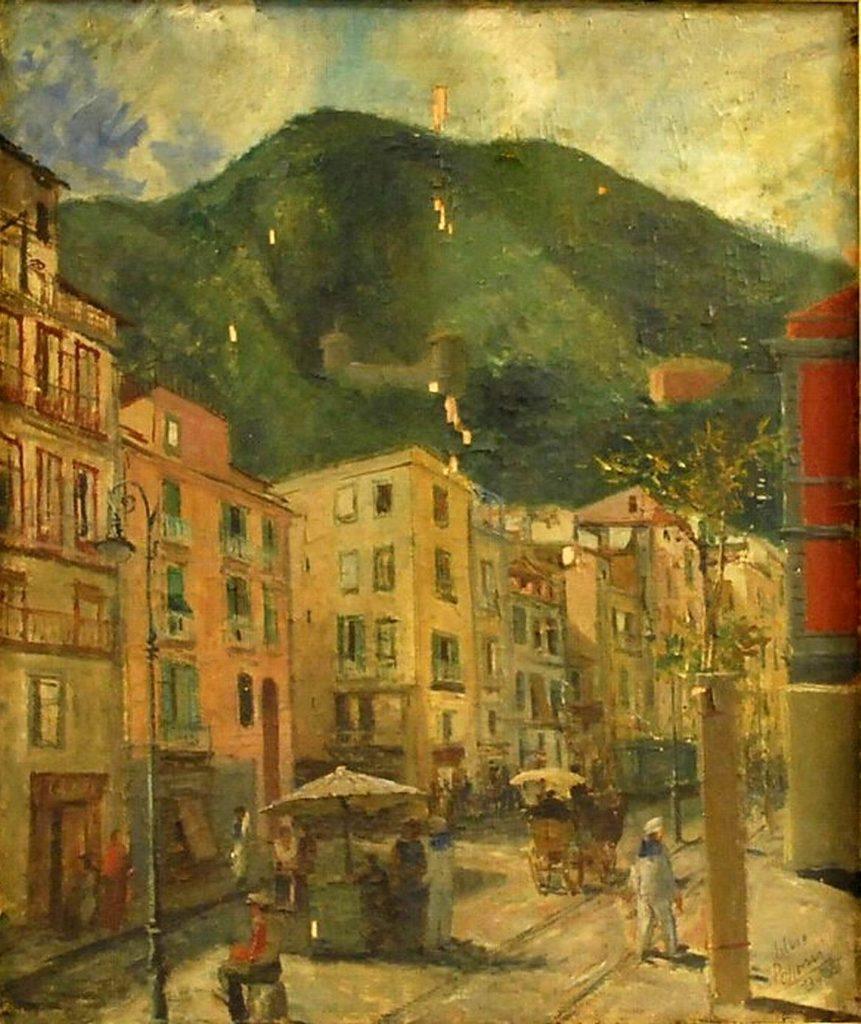 Silvio Polloni - Strada di Castellammare