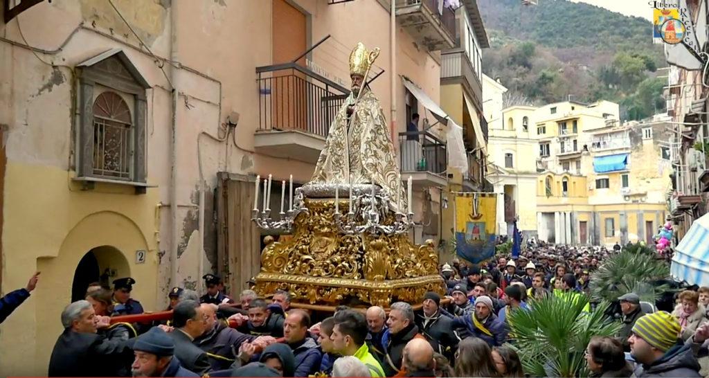 San Catello nei pressi di Largo Spirito Santo