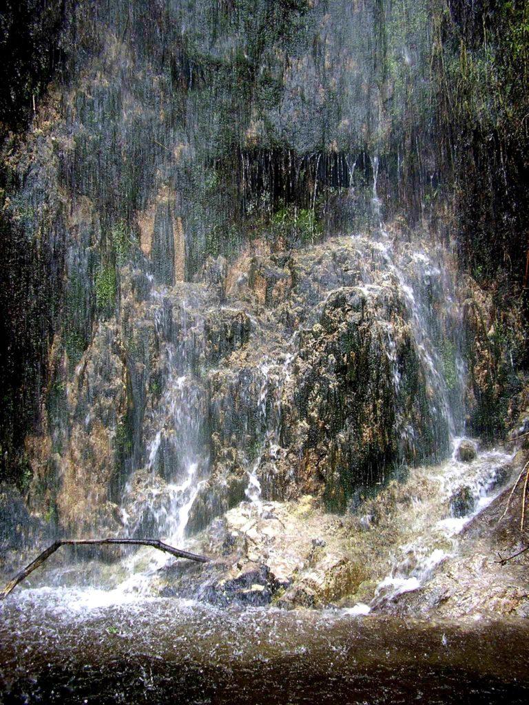 Cascata al Monte Coppola (particolare basso)