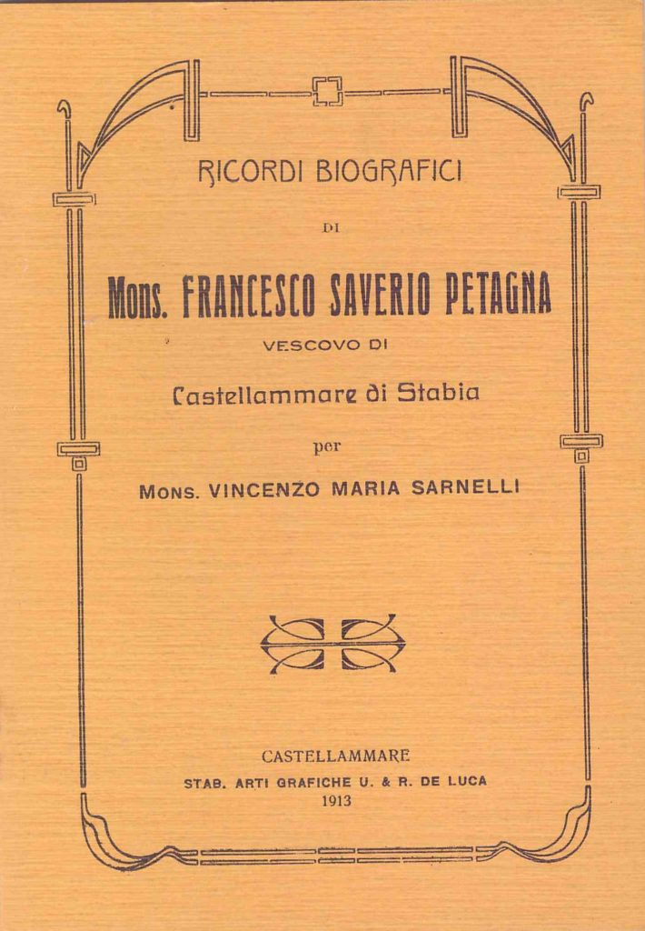 Mons. Francesco Saverio Petagna (1913)