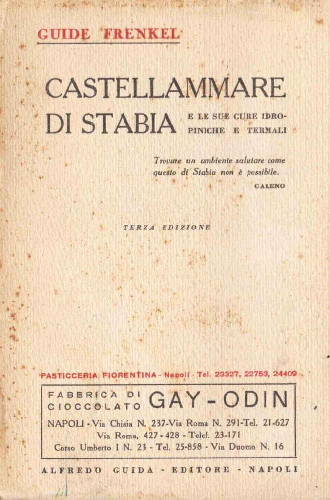 Castellammare di Stabia e le sue cure idropiniche e termali (1923)