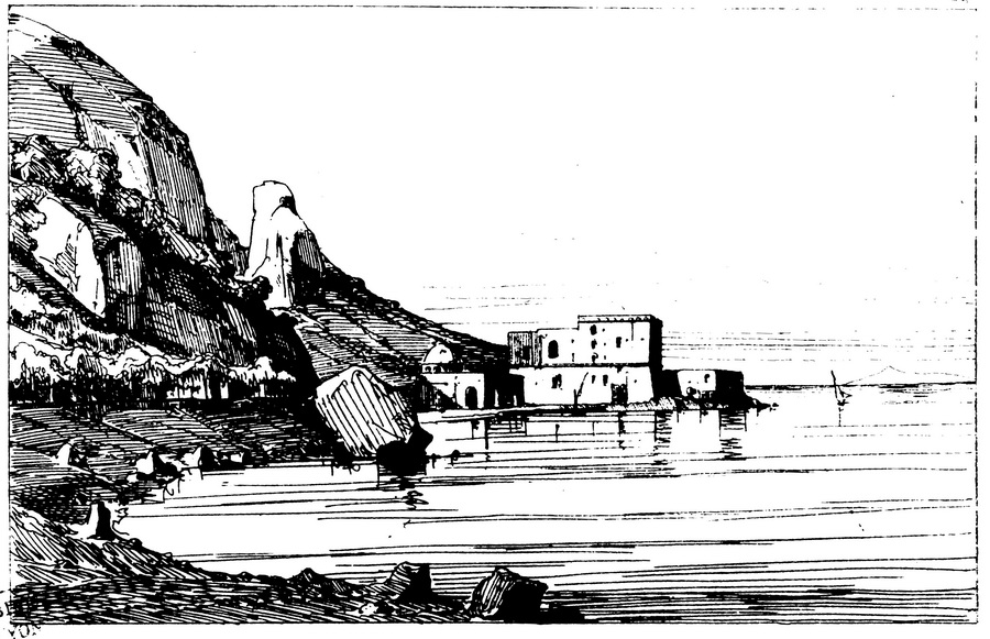 Francesco Alvino, Viaggio da Napoli a Castellammare, Napoli stamperia dell'Iride, 1845, tra pag.92 e 93.