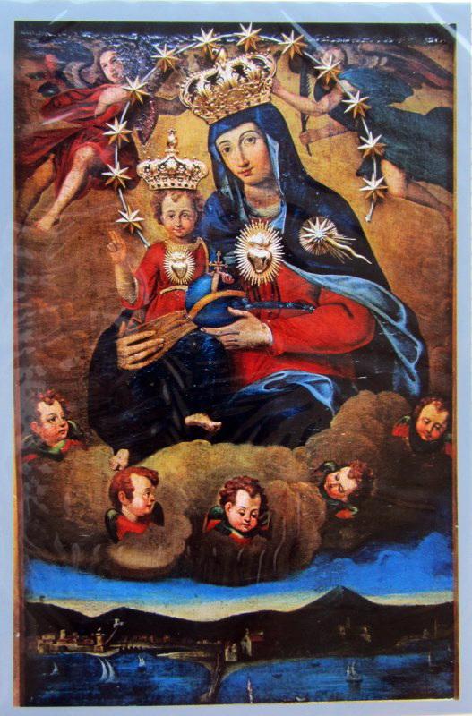 Santa Maria di Portosalvo, Castellammare di Stabia, XVI secolo, (cartolina, collezione Giuseppe Zingone)