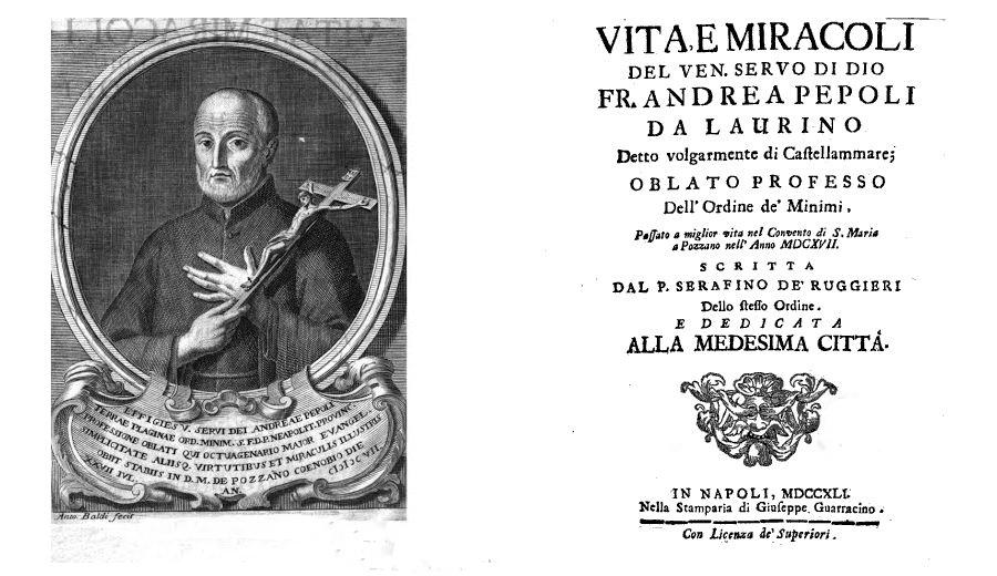 Serafino De' Ruggieri, Fra' Andrea Pepoli