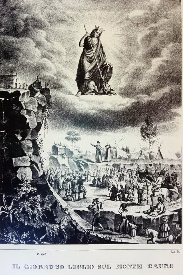 Il Pellegrinaggio al Faito, tratte da: Giuseppe D'Angelo, Sul filo della memoria, Longobardi editore, 2008.