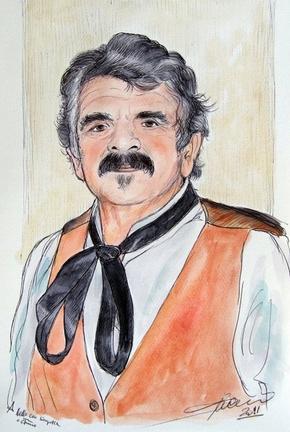 Aniello ritratto dal M° Umberto Cesino