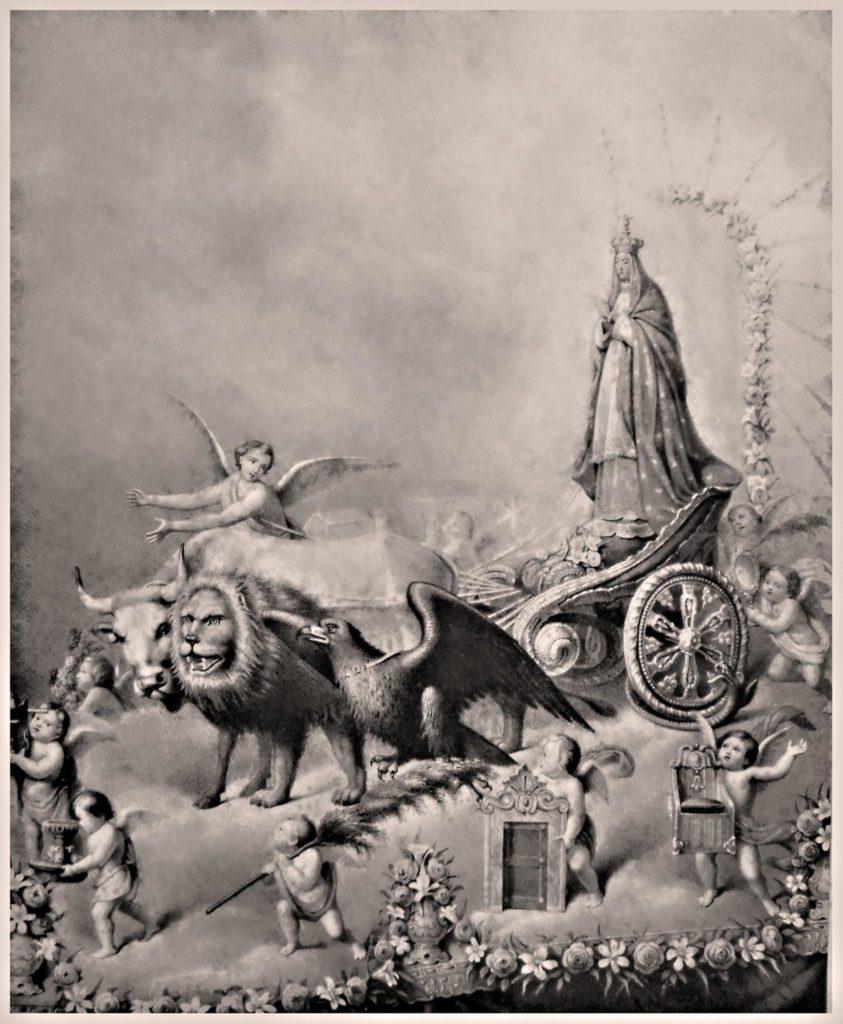 Il carro processionale per la Madonna Immacolata di Castellammare di Stabia