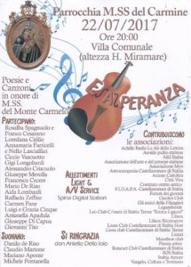 Poesie & Canzoni Maria SS del Carmine