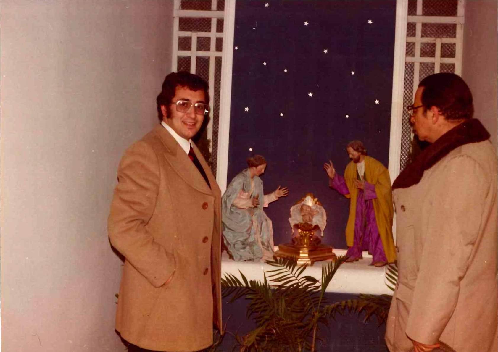 A destra il Presidente Francesco Paolo Bonifacio (foto archivio fam. Greco)