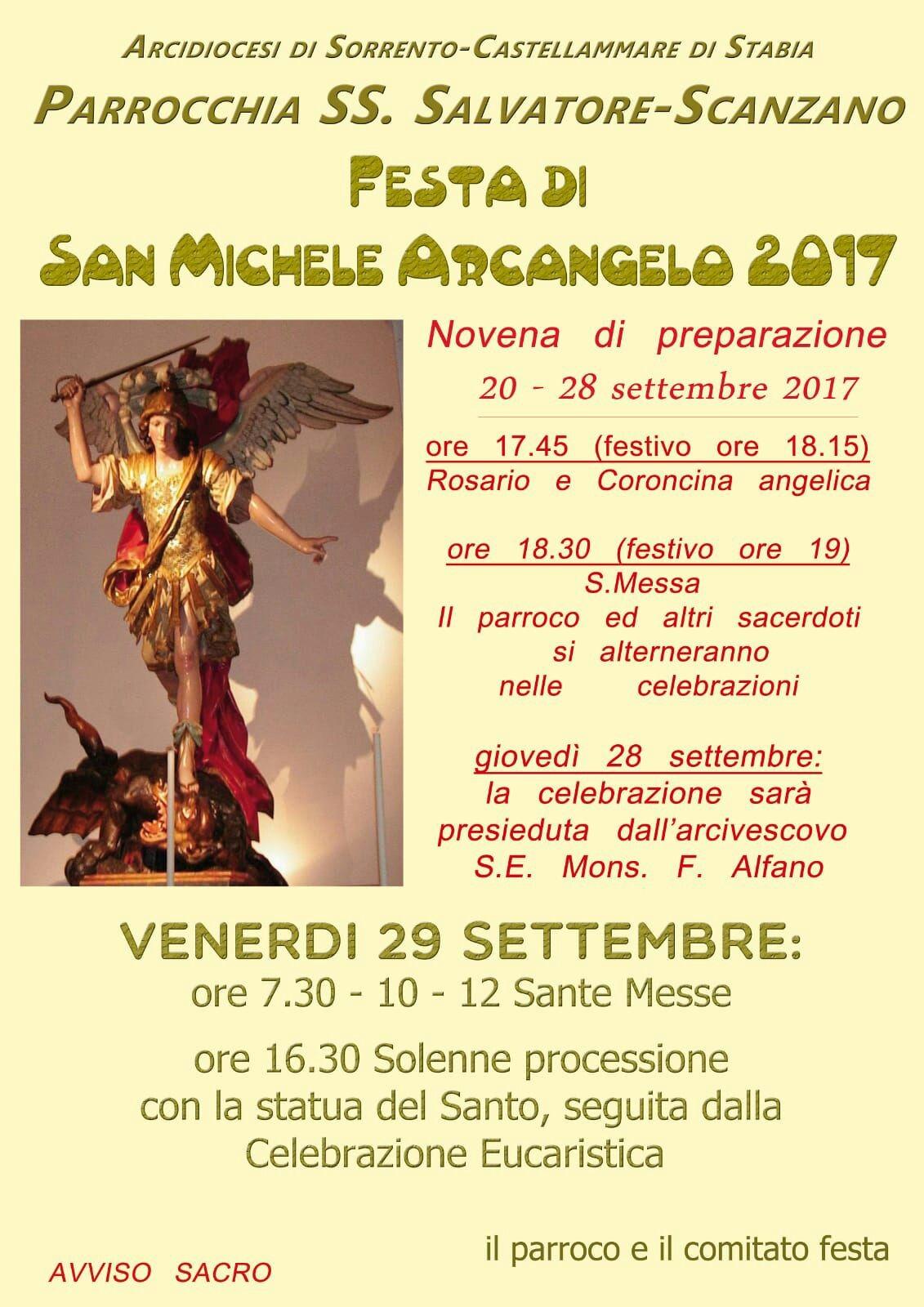 Festa di San Michele a Scanzano